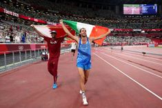 Barshim From Qatar And Tamberi From Italy Share Olympic High Jump Gold