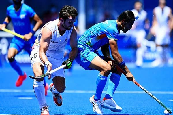 India loses to Belgium