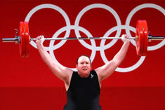 Laurel Hubbard says she is not a transgender role model but athlete