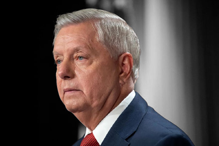 Lindsey Graham first vaccinated US senator to test positive for Covid-19