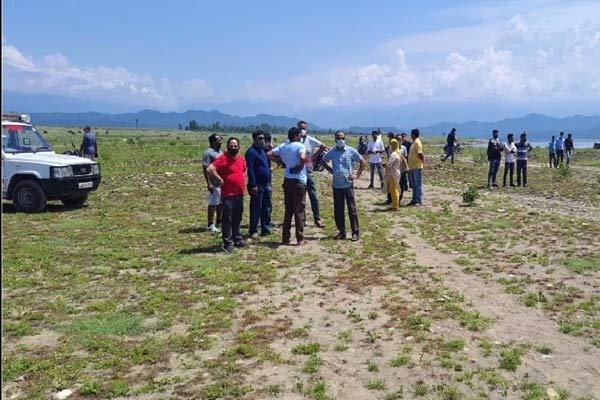 Chopper crashed into Ranjit Sagar lake in Kathua, four jawans including pilot missing