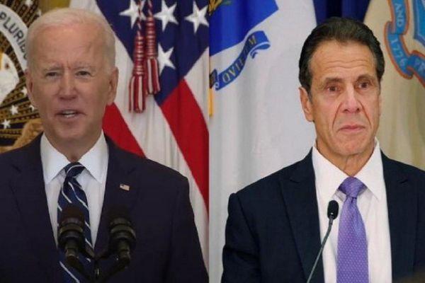 Joe Biden Calls On New York Governor Cuomo To Resign Following Investigation