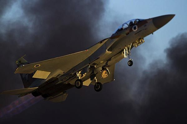 Israeli air attack in Lebanon