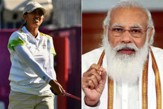 Prime Minister Narendra Modi Praised Golfer Aditi Ashok