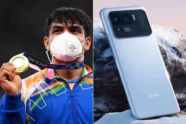 Mi 11 Ultra to each Indian athlete