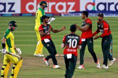 Australian team was bundled out for just 62 runs in the 5th T20 match Bangladesh thrashed badly in t
