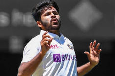 Shardul Thakur injured difficult to play in second Test