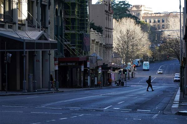 Lockdown in Melbourne
