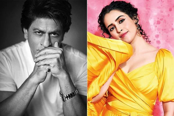 Shah Rukh Khan and Sanya Malhotra