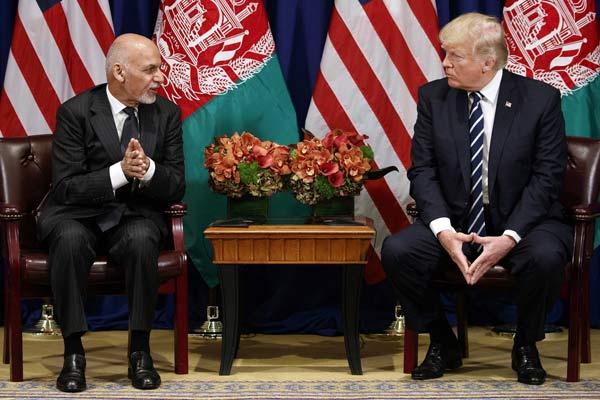 Donald Trump on Ashraf Ghani