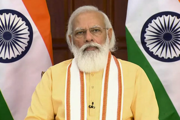 PM Modi lays foundation stone of several projects in Somnath complex