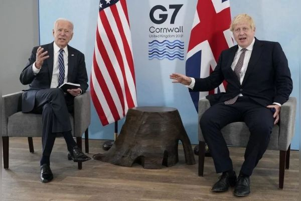 Biden talks to Johnson on Afghanistan crisis G7 virtual meeting will be held today