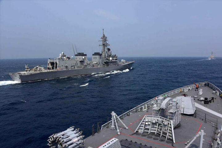 QUAD exercise in Indo pacific