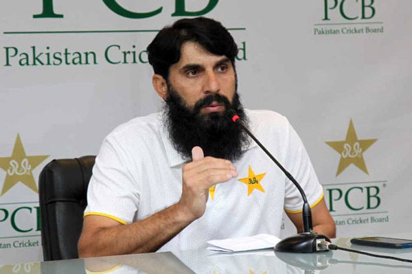 Pakistan team head coach Misbah-ul-Haq found corona positive
