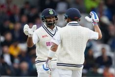 India score on the third day is 215 for 2 wickets struggle against England continues