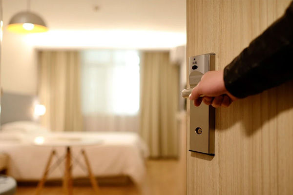 Man stayed in hotel for 2 months