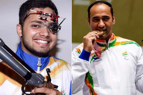 Manish Narwal wins gold