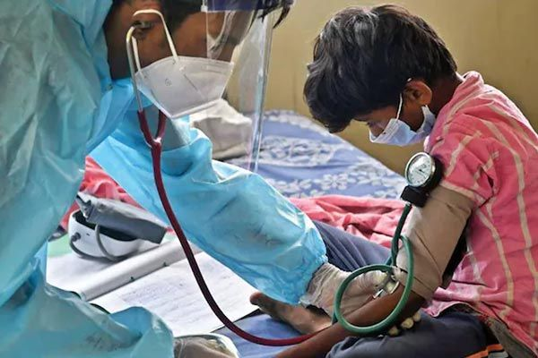 Bihar hospitals run out of space
