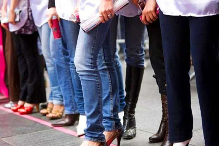 Ban on wearing jeans and t shirts of teachers decree issued for women also