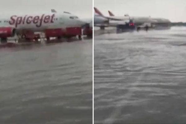 Delhi Airport Flooded After Record Rain, City On Orange Alert
