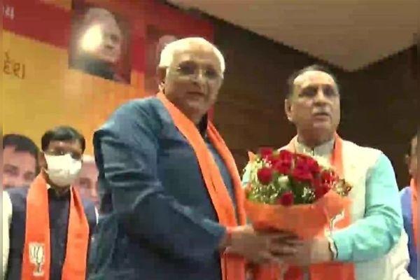 Bhupendra Patel elected as the new CM of Gujarat, Vijay Rupani congratulated