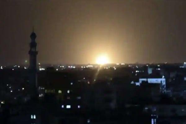 Israel airstrikes on Hamas targets in Gaza Strip