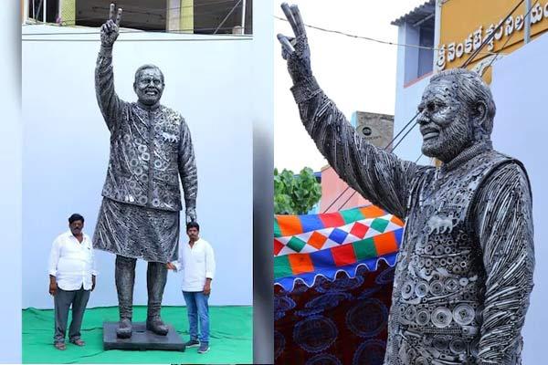 Statue of PM Modi