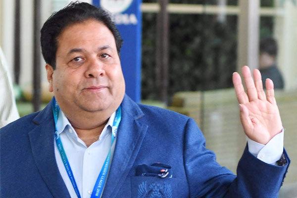 Rajeev Shukla on split captaincy
