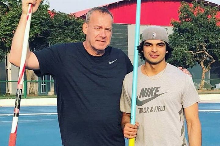 Neeraj Chopras javelin throw coach Uwe Hohn sacked athletics federation not happy with performance