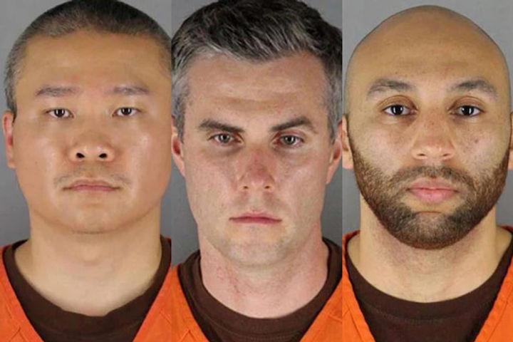 Minneapolis police plead not guilty