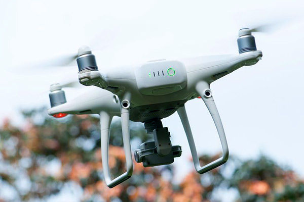 Weapons and explosives dropped by drones are similar to those dropped by drones on the Pakistan bord