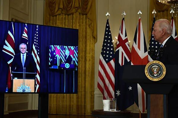 Biden forgets Australian PM's name