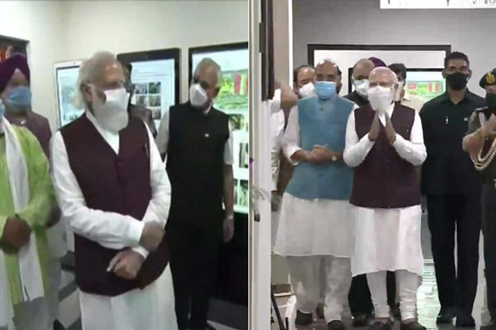 PM Modi Inaugurates New Defence Ministry Office Complexes In Delhi Today