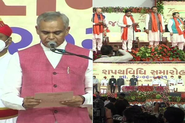 Bhupendra Patel Cabinet Ministers Swearing In