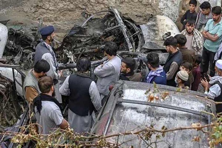 US military on Kabul drone strike