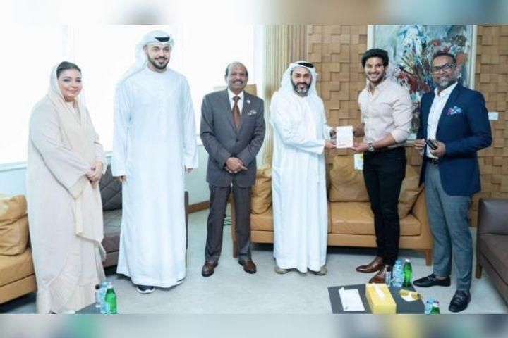 Dulquer Salmaan gets UAE Golden Visa