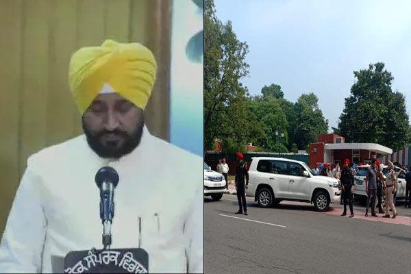 Charanjit Singh Channi takes oath