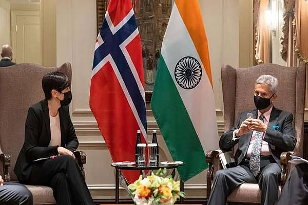 Jaishankar met the foreign ministers of Norway, Iraq and Britain, discussed important issues