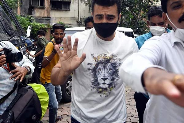 Raj Kundra released