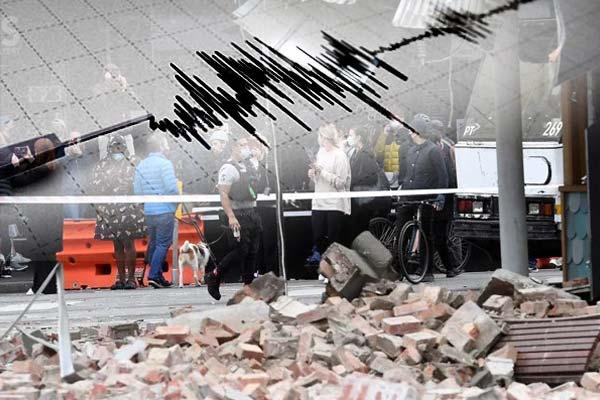 Earthquake in Melbourne