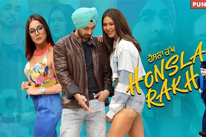 Shahnaz Gill signs Punjabi film Haunsla Rakh Diljit Dosanjh will be seen together