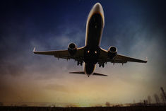 Passenger flights from India to Canada