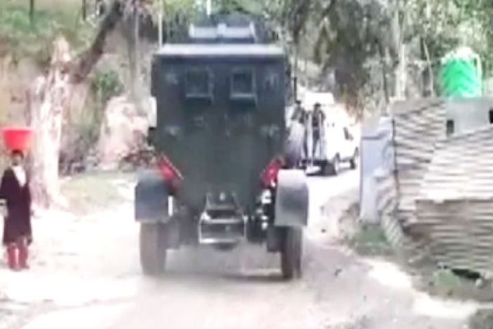 Encounter Breaks Out At Kashwa Area Of Shopian In Jammu And Kashmir