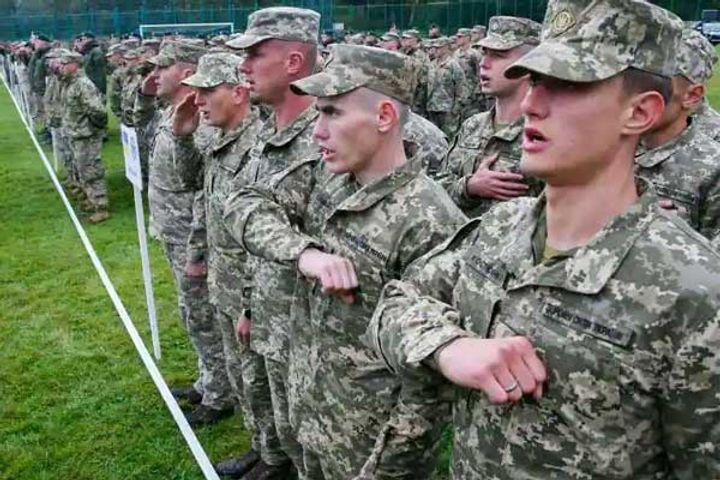 Military exercise by Ukraine