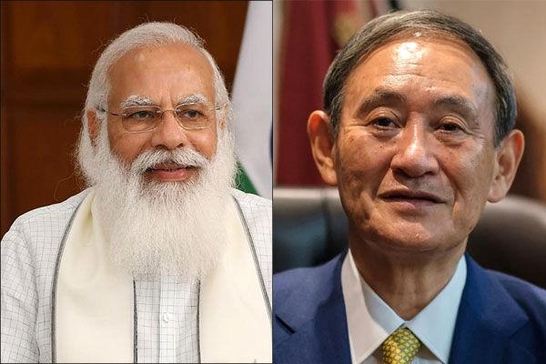PM Modi meets Japan PM