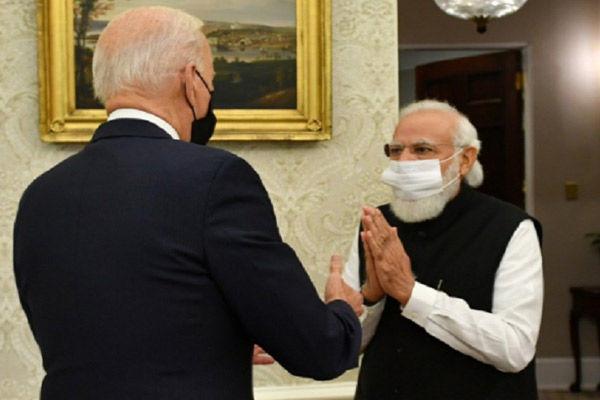 PM Modi and Joe Biden
