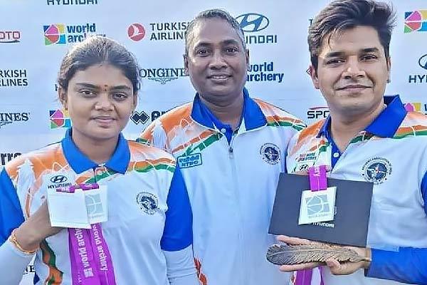 World Archery Championship 2021 Indias compound womens team wins silver