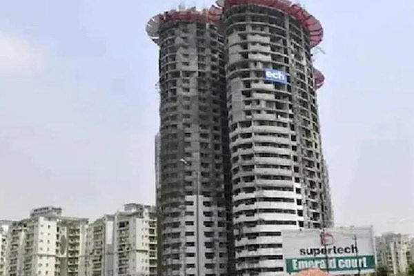 Supertech Files Amendment Application On Emerald Court Project In Supreme Court Order To Demolish Tw