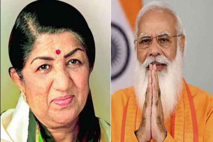 PM Modi wishes music queen Lata Mangeshkar on her birthday