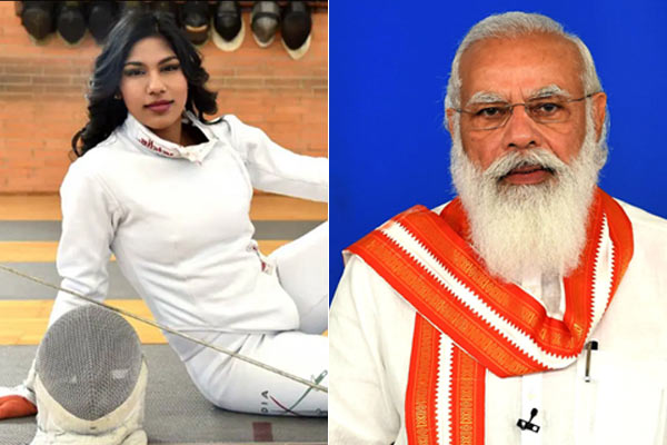 Olympian Bhavani Devi sword in e-auction of gifts received by PM Modi
